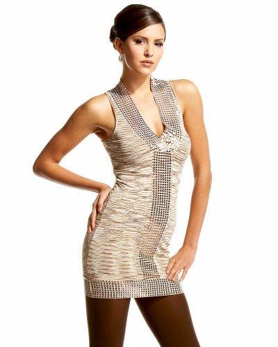 Graphics & Sequins Dress