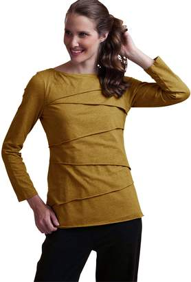 Neon Buddha Women's Soft Cotton Shirt Female Long Sleeve Top with Layers