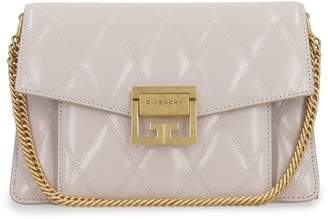 Givenchy Gv3 Small Leather Quilted Shoulder Bag