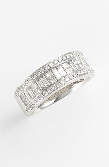 Nordstrom Bony Levy Baguette Diamond Ring Exclusive)