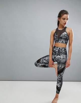 Onzie Printed Crop Sporty Legging