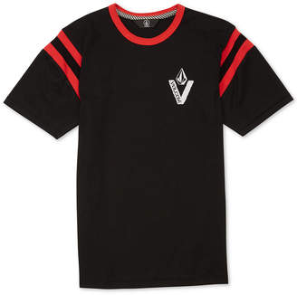 Volcom Big Boys Wagner Graphic Cotton T-Shirt
