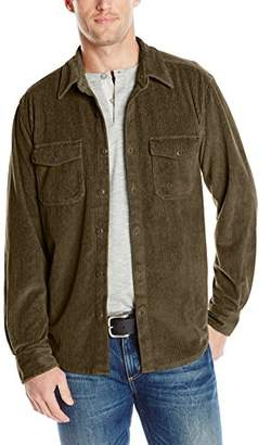 True Grit Men's Best Stretch Cord Long Sleeve 2 Pocket Shirt Jacket