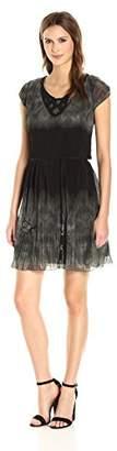 Desigual Women's Yeie Woven Short Sleeve Dress