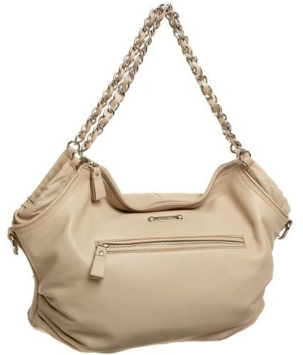 Calvin Klein Chained Pebble Soft Satchel