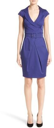 Women's Armani Collezioni Belted Sheath Dress $995 thestylecure.com