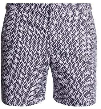 Orlebar Brown Bulldog Themis Swim Shorts - Mens - Navy Multi