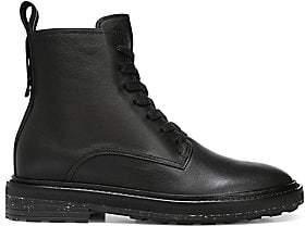 b3b61478cee Via Spiga Women s Kinley Leather Combat Boots