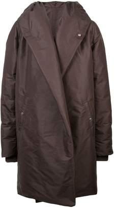 Rick Owens Sashed Hooded Liner jacket