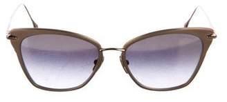 Dita Cateye Mirrored Sunglasses