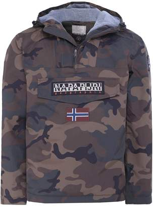 Napapijri Rainforest M Jacket in Camo L
