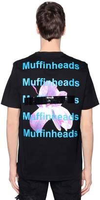 Diesel Muffinheads Print Cotton Jersey T-Shirt