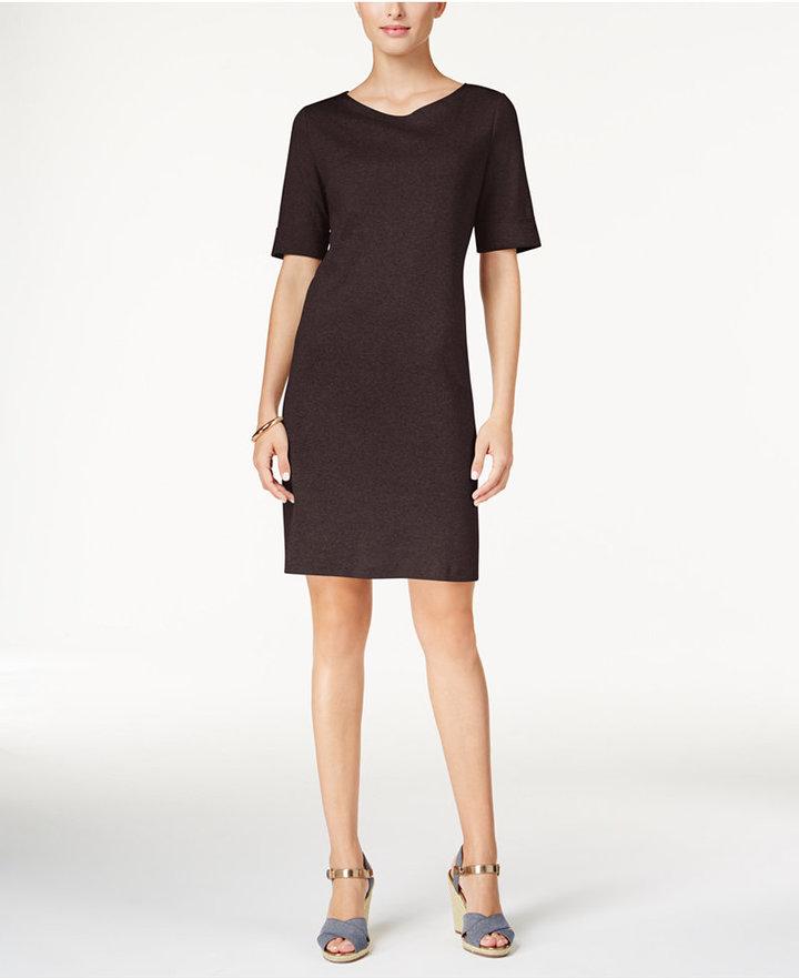 Karen Scott T-Shirt Dress, Only at Macy's 3