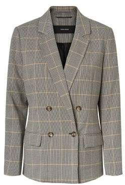 Vero Moda Laja Long-Sleeve Double-Breasted Blazer