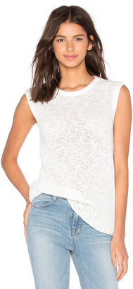 James Perse Web Jersey Muscle Tank $145 thestylecure.com