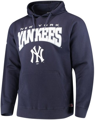 Stitches Men's Navy New York Yankees Team Pullover Hoodie