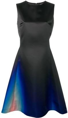 Lanvin hued flared dress