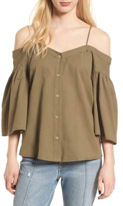 BP Cotton Off the Shoulder Top