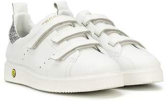 Golden Goose Kids touch strap sneakers