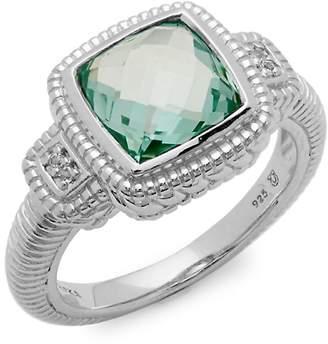 Judith Ripka Women's Sapphire & Sterling Silver Ring