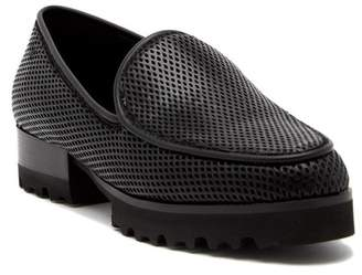 Donald J Pliner Elen Platform Leather Loafer