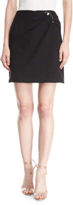 Cushnie et Ochs Wrap-Front Mini Skirt