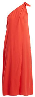 Mara Hoffman Camilla One Shoulder Dress - Womens - Red