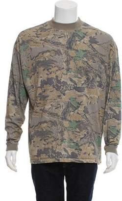 Yeezy Mock Neck Long Sleeve T-Shirt
