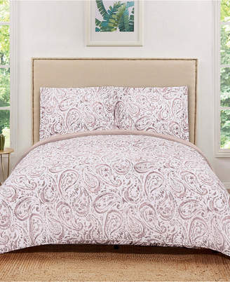 Pem America Truly Soft Watercolor Paisley Full/Queen Quilt Set