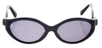 Kieselstein-Cord Sterling African Queen Sunglasses
