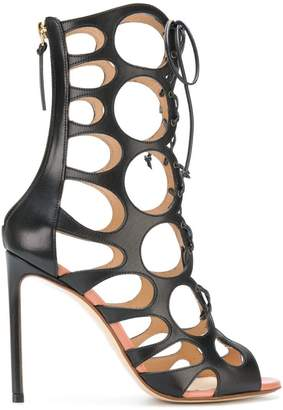 Francesco Russo cut-out sandals