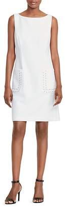 Lauren Ralph Lauren Lacing-Detail Dress $175 thestylecure.com