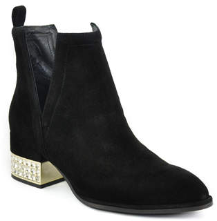 Jeffrey Campbell Musk - Jewelled Heel Ankle Boot