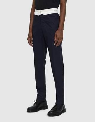 Maison Margiela Washed Chino Twill Trouser