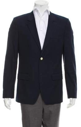 Marc Jacobs Virgin Wool Notched-Lapel Blazer