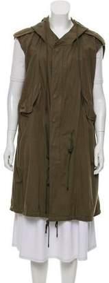 Nlst Longline Hooded Vest
