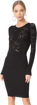 Versace Tattoo Knit Dress $895 thestylecure.com