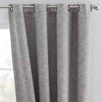 Pottery Barn Teen Seaton Grommet Blackout Curtain, 108&quot, Gray