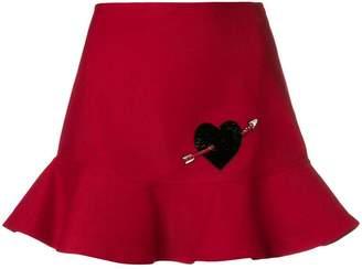 Valentino flared mini skirt