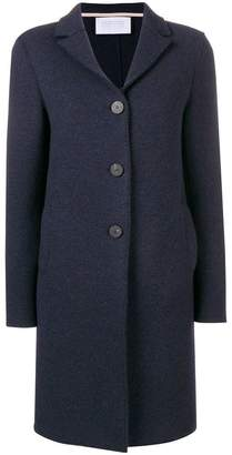 Harris Wharf London single-breasted buttoned coat