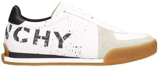 Givenchy White Leather Sneakers Tennis Set