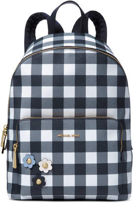 Michael Kors MICHAEL Gingham Large Backpack, Created for Macy's