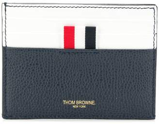 Thom Browne Stained Leather Note Cardholder
