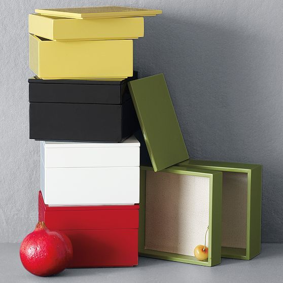 Small Stacked Jewelry Boxes