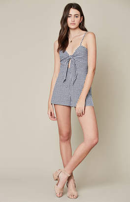 Blue Life Tied Up Romper