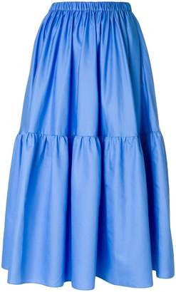 Stella McCartney elasticated waist midi skirt