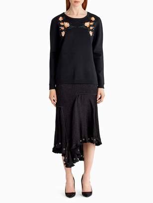Merino Silk Crew Neck Sweater
