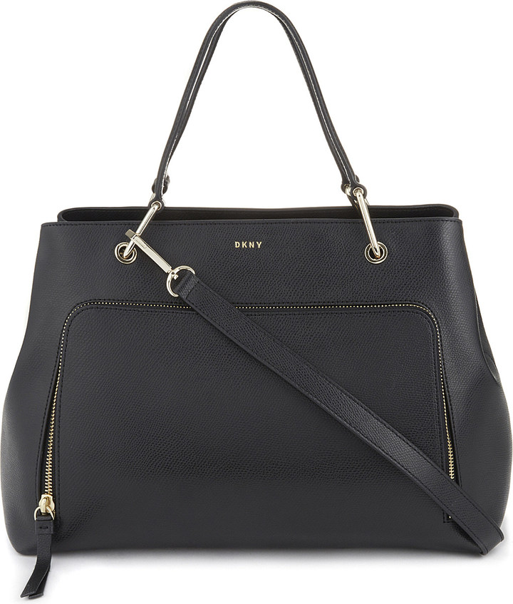 DKNY Dkny Medium saffiano leather satchel