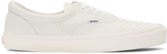 Vans Off-White WTAPS Edition OG Era LX Anaconda Sneakers $150 thestylecure.com