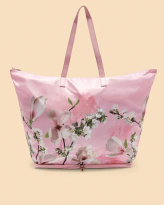Ted Baker FALLS Harmony nylon foldaway shopper bag